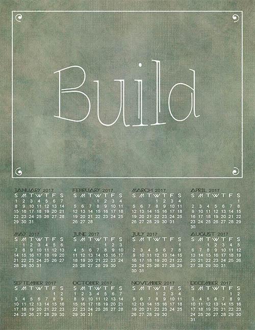Build Calendar