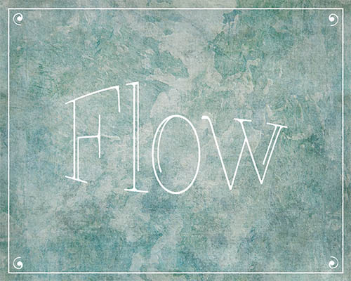 Flow | Printable One Word Inspiration