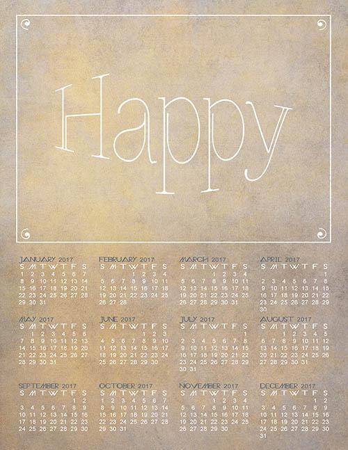 Happy Calendar
